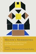 Milton's Modernities